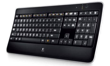 Bezdrôtová klávesnica K800 Illuminated EN