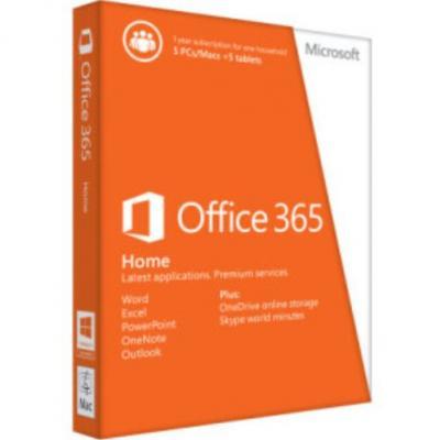 MICROSOFT Office 365 pre Domácnosti SK