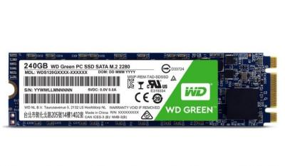 Western Digital SSD M.2 240GB Green series 2280 Sata