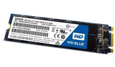 Western Digital SSD M.2 500GB Blue series 2280 Sata