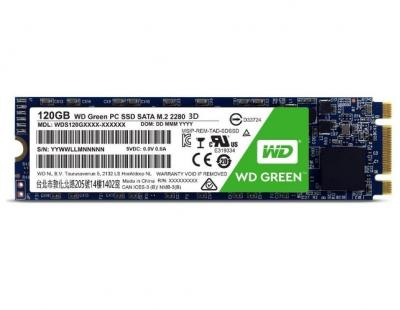 Western Digital SSD M.2 120GB Green 3D