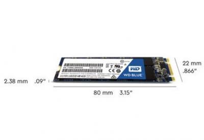 Western Digital SSD M.2  2TB Blue 3D NAND